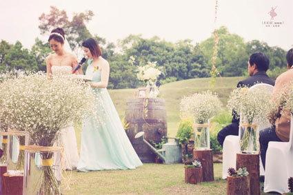 女孩們必看,暮光之城的超夢幻戶外花園婚禮!