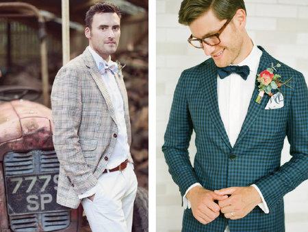 型男穿搭大統整,5招教你怎麼穿怎麼帥!結婚不再黑壓壓的西服穿搭