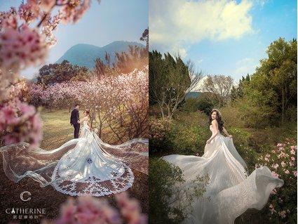拍婚紗天氣好重要!如何搭配不同的季節拍婚紗有要領