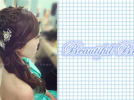 新娘造型蝴蝶編髮分享