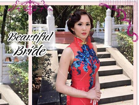 看看他們如何成為古典美新娘