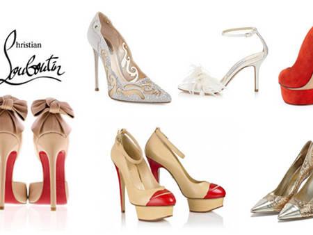 新娘也瘋狂!新娘最想擁有的婚鞋排行榜前10名!