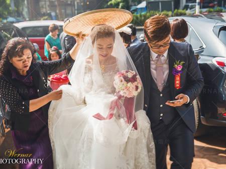 迎娶時該用黑傘還是米篩?