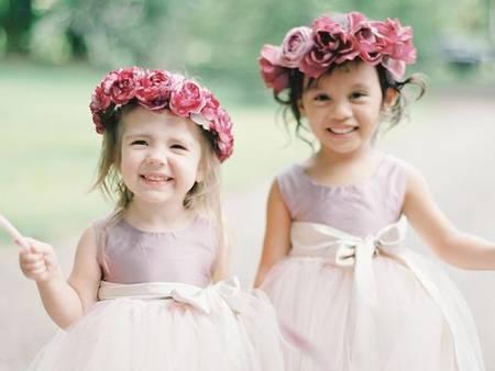 婚禮有了她們才可愛!5種敲可愛的小花童裝扮