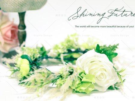 【台中新娘秘書推薦】花之女神の新娘髮型