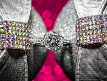 婚禮紀錄-當金光閃閃的婚戒遇到了超有架式的婚鞋後
