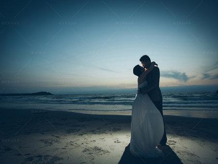短髮美新娘推薦的結婚照風格
