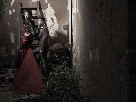 冷系復古場景的個性主題婚紗照這樣拍!