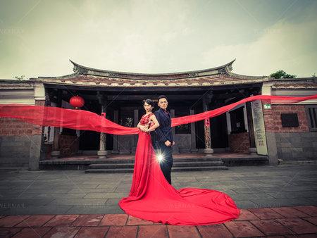 拍出好看的中國風、復古風格結婚照~取景是非常重要的課題