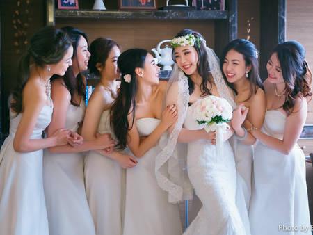 伴娘服色彩學!這樣穿不但讓你美上天,還能襯托新娘成嬌點✿