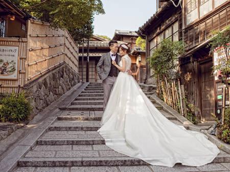 6大風格超美階梯婚紗,每個無聊階梯都是我的時尚背景!
