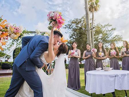 草原戶外婚禮8個必備條件!明明在台灣卻像在國外ℒℴνℯ..._〆(゚▽゚*)