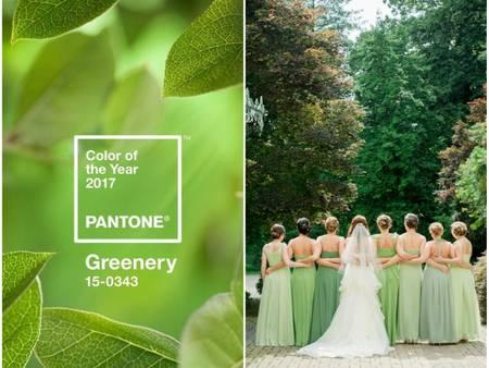 2017流行色【草木綠】完美融入婚禮中!今年就是要當個森林系新娘○(* ̄︶ ̄*)○