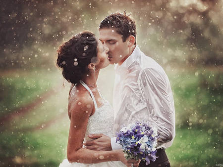 拍婚紗最怕遇到下雨天?7招讓妳的婚紗照在雨中變得很唯美
