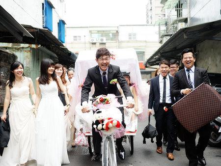 婚禮紀錄篇-為了娶到妳!新郎豁出去的精采時刻