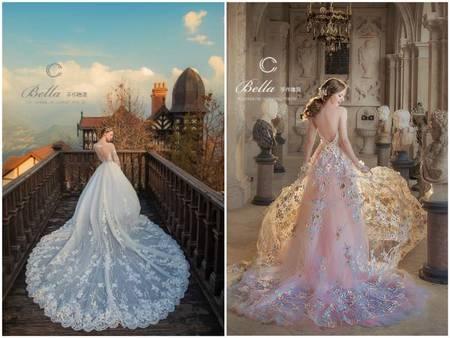 Bella手作禮服2017全新《藏蕾絲》系列 訂製妳的時尚歐風花園風格禮服