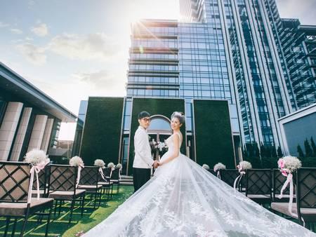【台北婚宴場地】美麗華摩天輪再加空中花園,萬豪酒店一次滿足兩個婚禮願望