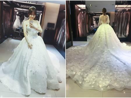 【咪娜穿婚紗】美到極致Bella手工婚紗,每一件都想要打包帶回家
