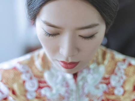 明星結婚瘋穿「龍鳳褂」!8種類型讓你出嫁時金光閃閃(台語)