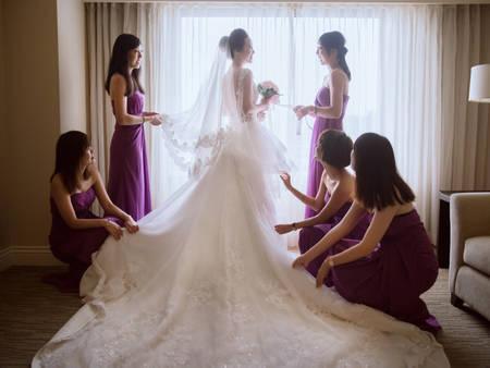 1分鐘了解婚禮前一天必做的15件事情!每一項都打✓才能放心出嫁