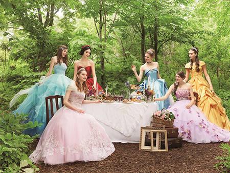 腦公~我也要一件!日本正式推出超夢幻「迪士尼公主婚紗」每件都想帶回家