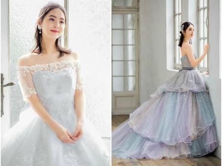 雜誌女神佐佐木希幸福出嫁啦!每件禮服都夢幻的不像話