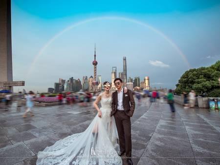 街拍婚紗姿勢大解析,一秒變名模不是夢