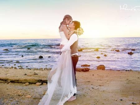 現在流行這樣拍!自助婚紗≠自拍歐美婚紗照✔宿霧之迷你版馬爾地夫高CP之旅