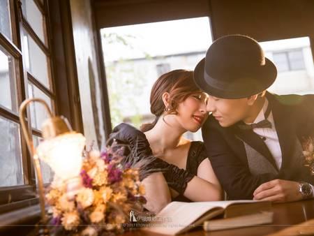 【自助婚紗】超好拍咖啡館婚紗攝影景點vs 婚紗禮服怎麼穿
