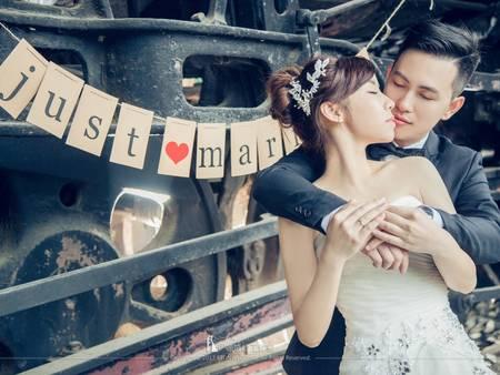 【自助婚紗】鐵道婚紗照景點清單, 鐵道迷必備婚紗攝影懶人包!