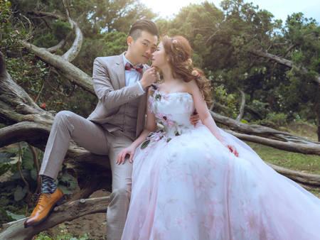 做個最怡然自得的新嫁娘!森林系女孩婚紗特輯,與夏季悶熱感說BYE!
