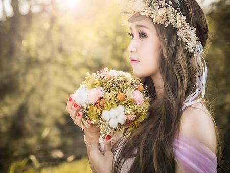 比鮮花還美!嚴選5種「乾燥花」捧花 拍婚紗、婚宴一束搞定