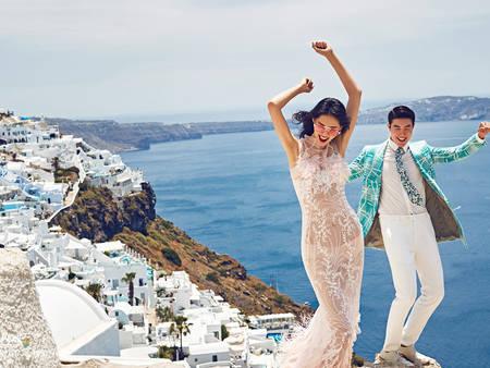 六月新娘走吧!飛去海島拍夏日婚紗 藍天、白雲、沙灘美翻天❤