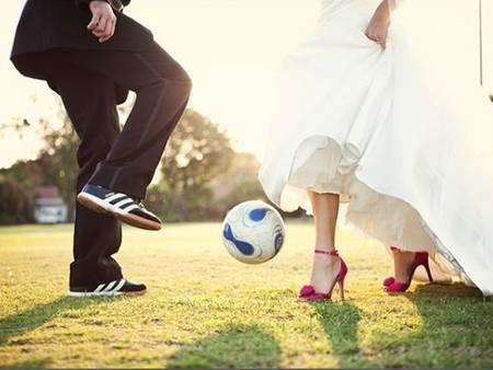 足球狂粉!跟上世界盃足球賽 用「足球」來定義你的婚禮風格❤