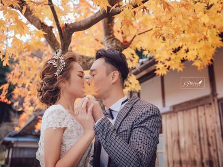 你也是秋季新娘嗎?快跟上這5大秋季婚禮趨勢,走在時尚尖端吧!(甩髮)