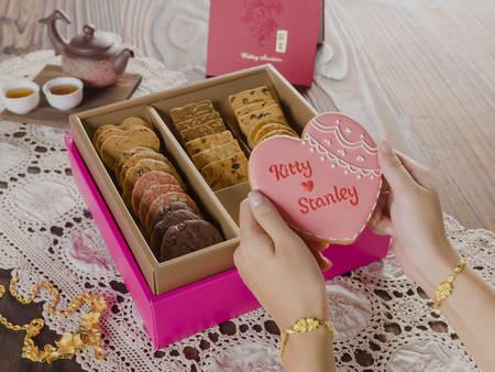 【開璽喜餅開箱】公主嫁到!客製化「糖霜」餅乾 淡淡牛奶糖味擄獲甜食控❤