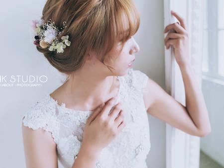 「日系新娘妝髮」輕鬆擁有!3分鐘秒懂的訣竅,快把這篇傳給造型師參考~