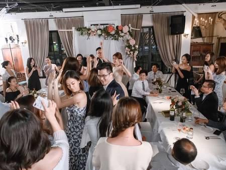 小資新娘向前衝!結婚吧精選5家「小桌數」場地  來場溫馨的小型婚宴吧❤