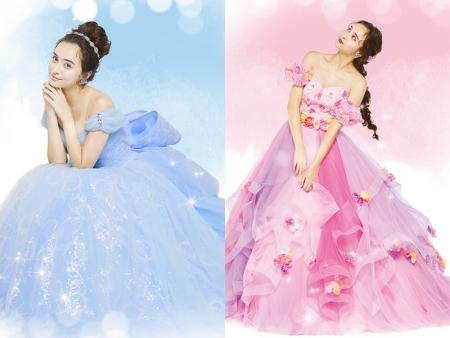 日本迪士尼婚紗再出招!4款夢幻公主系列 仙杜瑞拉背後蝴蝶結也太cute❤
