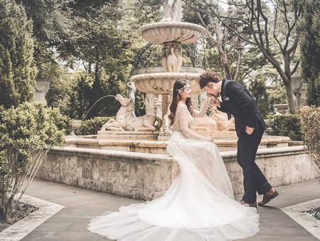 新人必看!最新婚禮佈置潮流 準備來個「英格蘭式」童話主題吧❤