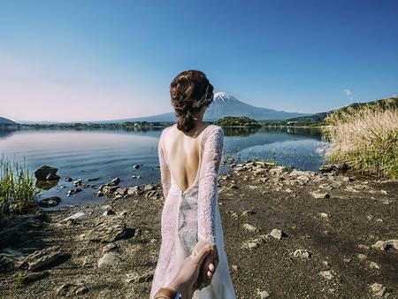 趕快出發吧!前往富士山&小合掌村 海外婚紗秋冬季限定♥