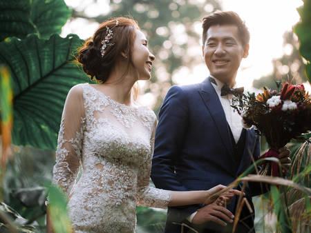 冬季拍婚紗!小清新就選「森林系婚紗」一同感受大地的氣息