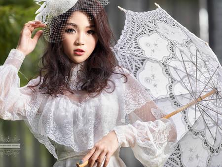 新人看這篇!冬季選「長袖婚紗」也能穿出絕美風情♥