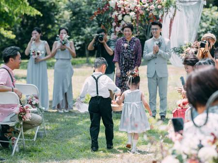 好事成雙!你可知道婚禮中超萌配角「小花童」的起源嗎?