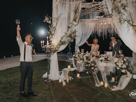 別再弄七彩霓虹燈惹!自己的婚禮佈置 原來「燈光設計」要這樣弄✍