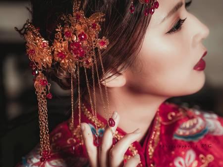 打造完美東方新娘!把握「妝髮」2大要訣 喜氣兼具時尚不是夢
