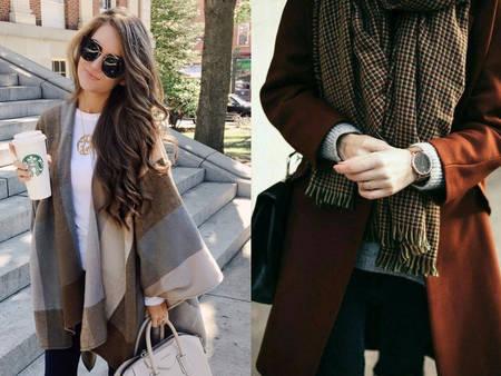 來點小心機!冬季約會完美穿搭 圍巾這樣搭更顯自我風格!