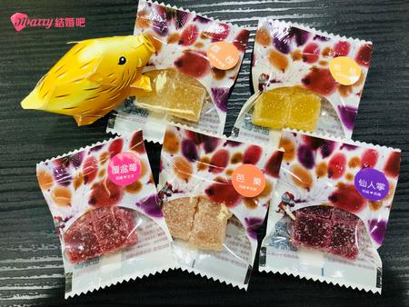 【婚禮小物開箱】請吃喜氣洋洋的好糖!吃出健康和幸福感的頃吃法式軟糖♥