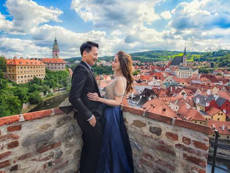 拍個婚紗就像走入童話!攝影師票選「3大夢幻」der海外小鎮♥