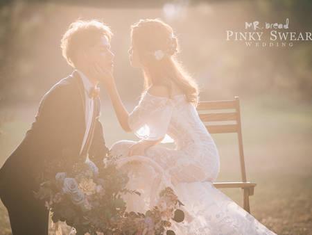 世界獵奇大公開~英國颶風「紅色風暴」,拍出令人屏息的絕美婚紗!